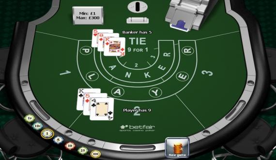 casino igre: baccarat
