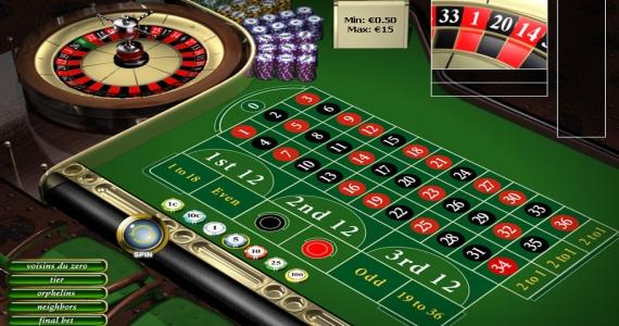 casino igre: rulet